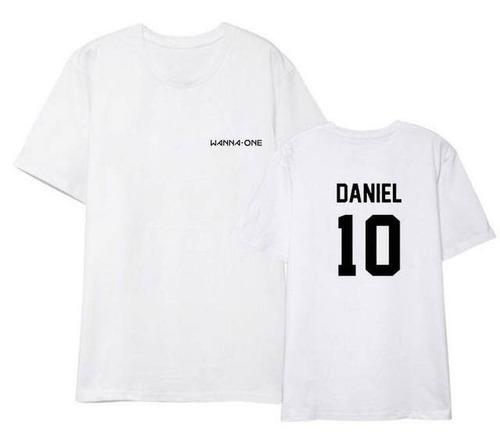 camisa camiseta blusa ou baby look k-pop wanna one daniel 10