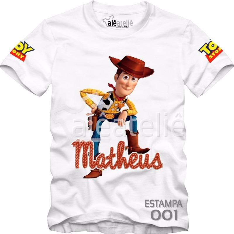 camisa camiseta blusa personalizada toy story woody jessie. Carregando zoom. 9c2e6267f3b