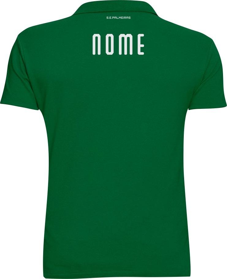 91c9a206fff69 Camisa Camiseta Blusa Polo Personalizada Palmeiras Com Nome - R  69 ...