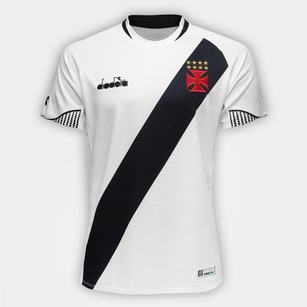 Camisa Camiseta Blusa Time Futebol Vasco Da Gama Adulto 2018 - R ... a3d7c56b1d92f