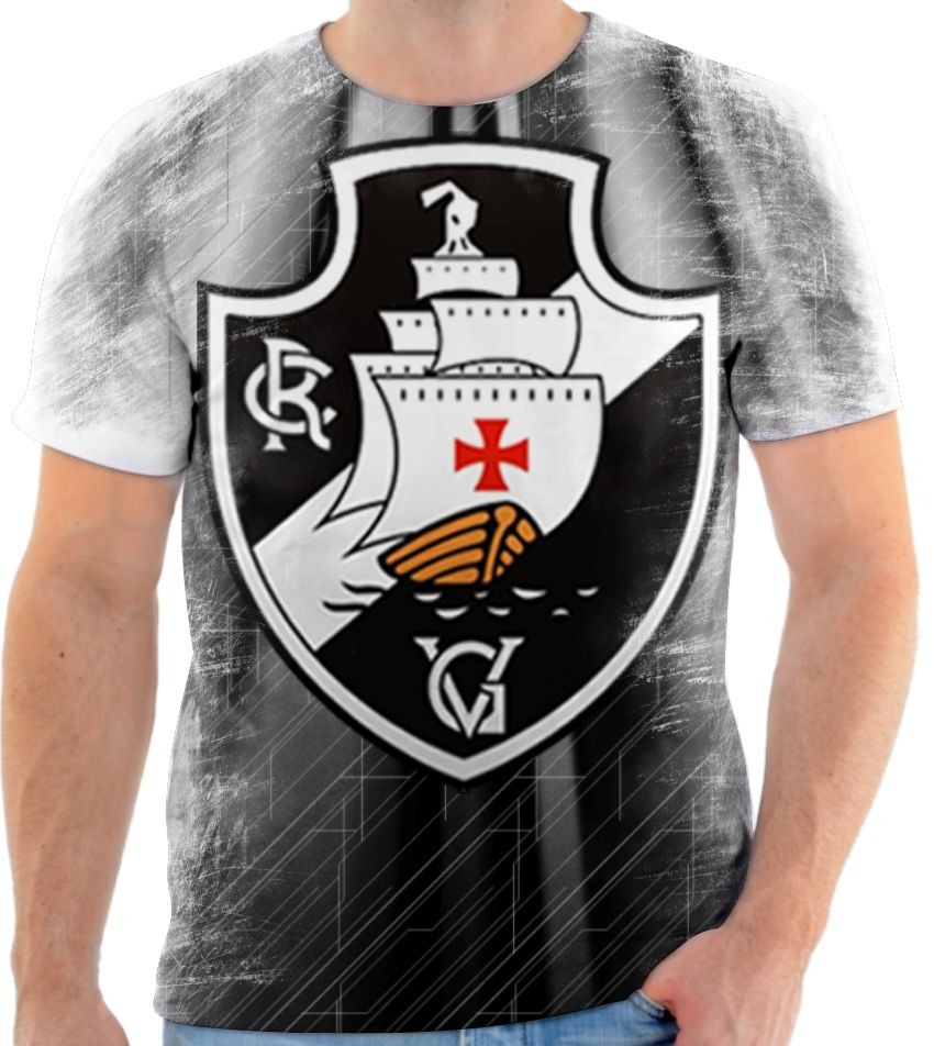 camisa camiseta blusa vasco da gama vascaino time futebol 2. Carregando  zoom. 872e16c9bab44