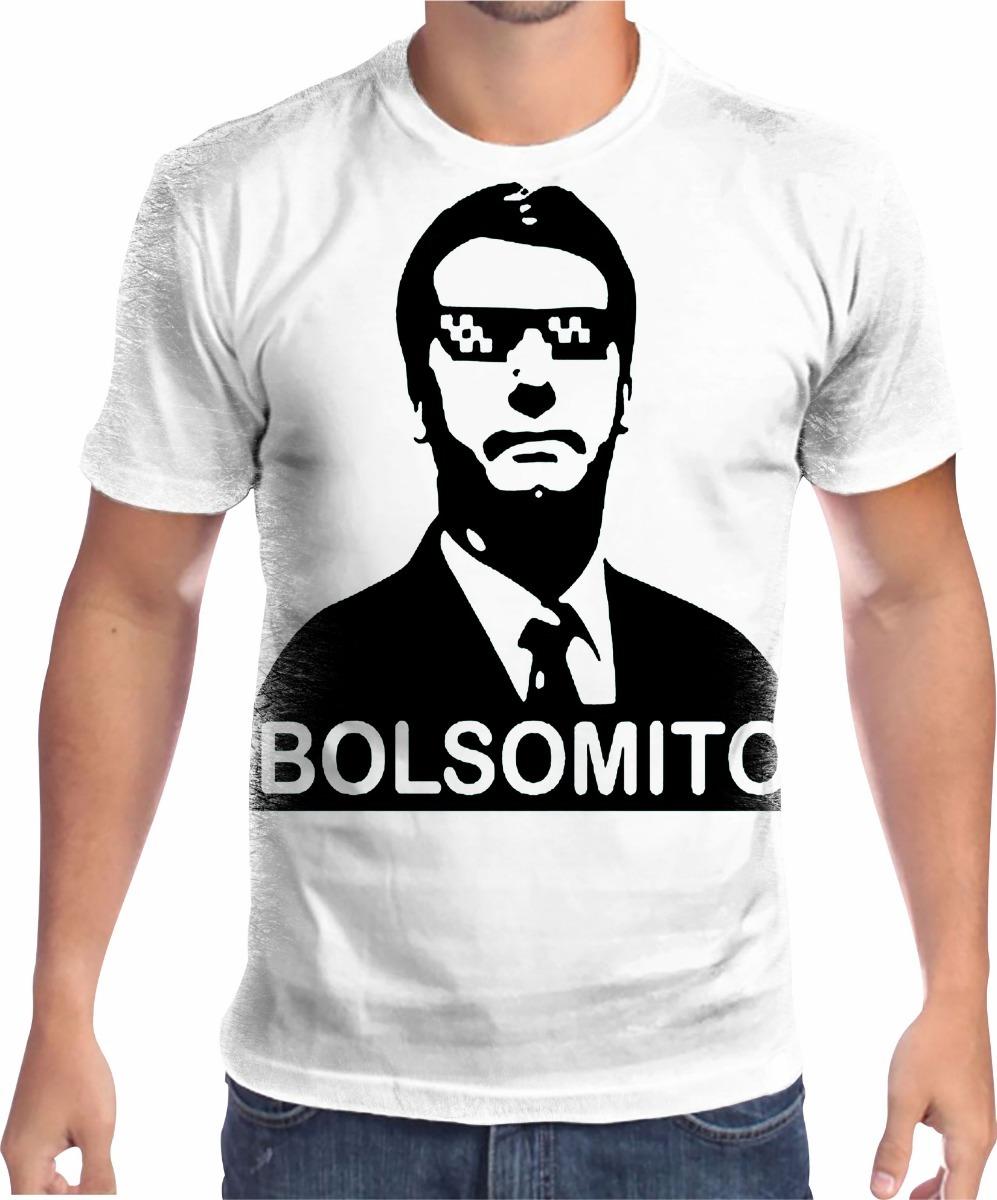 camisa camiseta bolsonaro bolsomito 3  mito. Carregando zoom. 9730fb70a0422