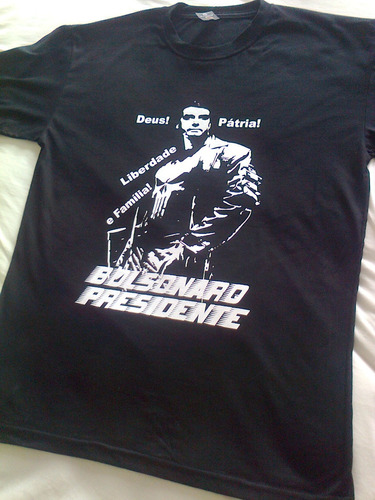 camisa camiseta bolsonaro presidente 2018 mito justiceiro