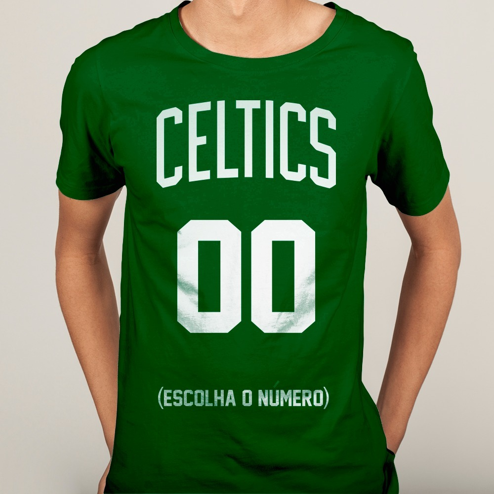 d8c94cd20 Camisa Camiseta Boston Celtics Nba Basquete 2018 - Mod. 04 - R  39 ...