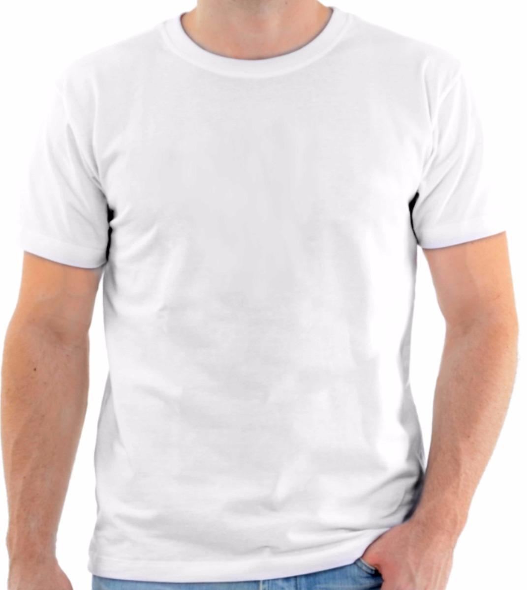 249390ff6 camisa camiseta branca 100% poliéster de ótima qualidade! Carregando zoom.