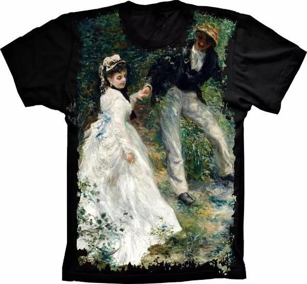 Camisa Camiseta Casal Homem Mulher Casamento Quadro Retro - R  49 96212fb3853de