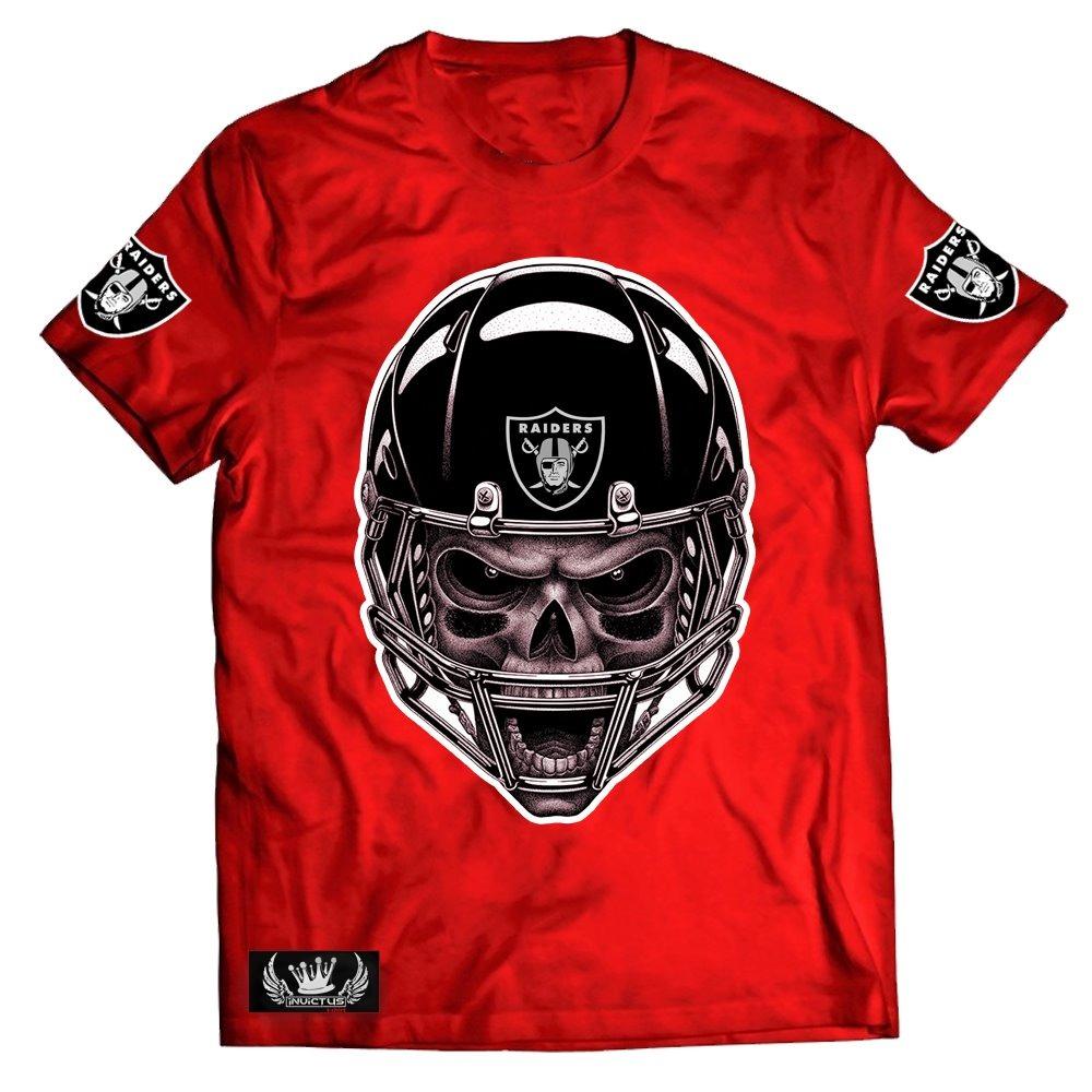 camisa camiseta caveira raiders nfl. Carregando zoom. b442c90e25714