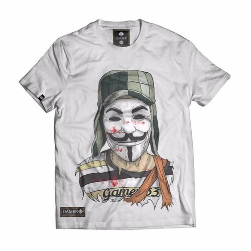 camisa camiseta chaves v vingança rap ny la kings gamer 33