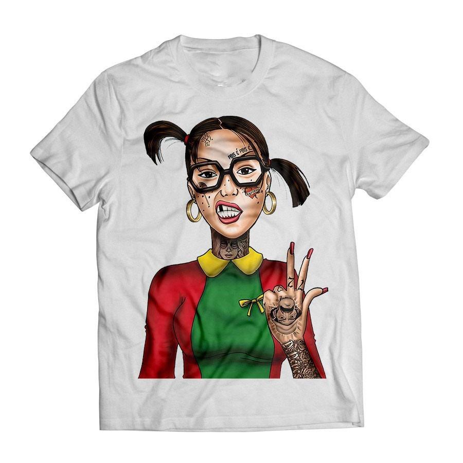 camisa camiseta chiquinha tatuada swag sexy thug chaves. Carregando zoom. a35f5f18cff