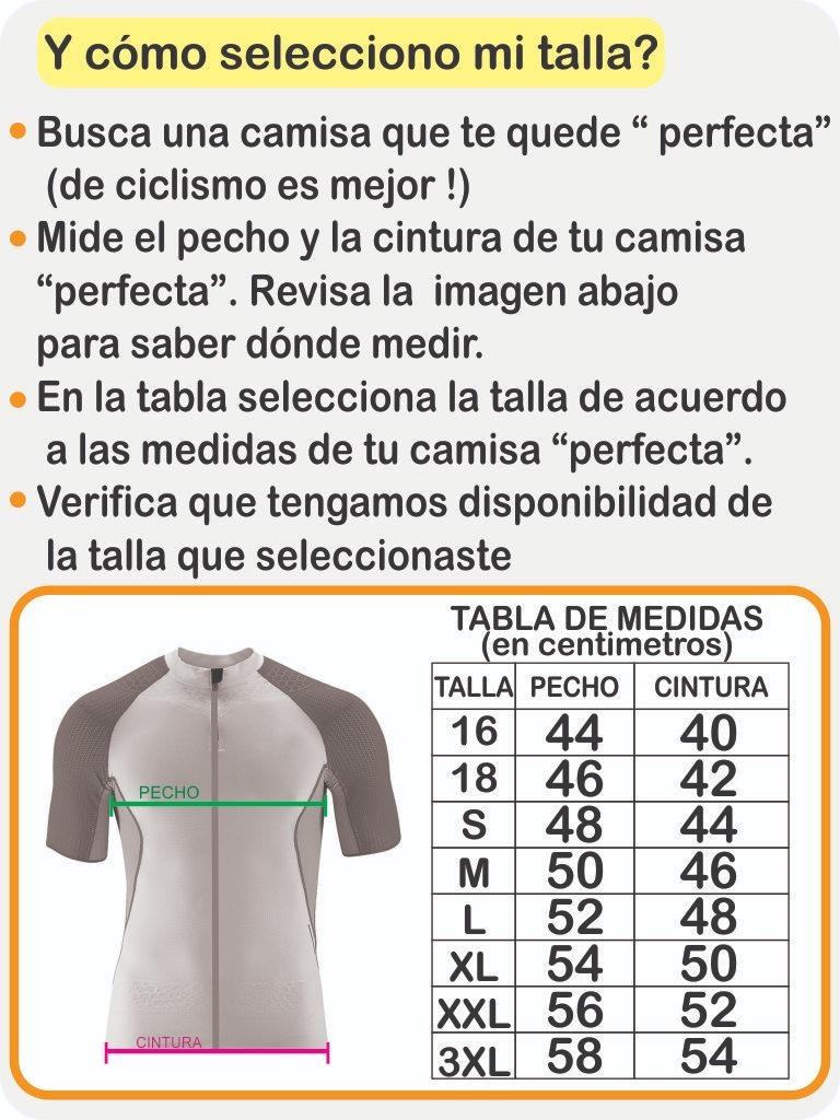 Camiseta Larga Hombre Ciclismo Camisa Colombia Manga qzVMSUpG