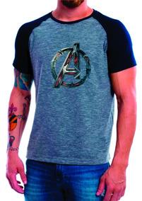 55d057c8a0 Camiseta Vingadores - Camisetas Masculino Manga Curta no Mercado ...
