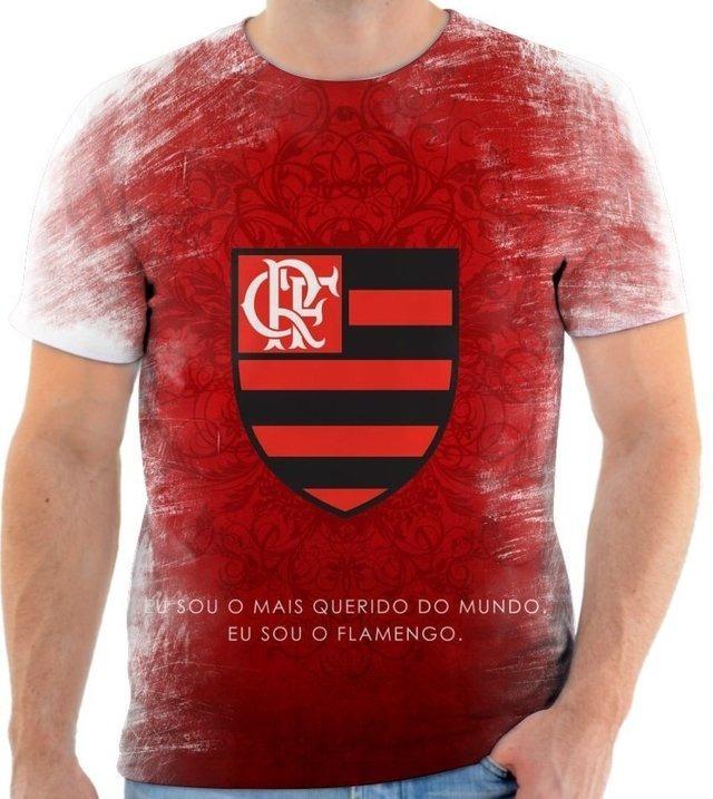 270833100e Camisa Camiseta Clube De Regatas Do Flamengo Time Futebol 10 - R  50 ...