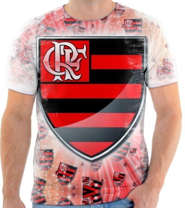 4d3f8a21f6 Camisa Camiseta Clube De Regatas Do Flamengo Time Futebol 6 - R  50 ...