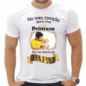 Camisa Camiseta Com Foto E Frases Presente Barato Para O Pai