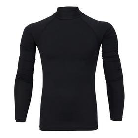 Camisa Camiseta Compressão Térmica Segunda Pele Uv-50 Fpu50+