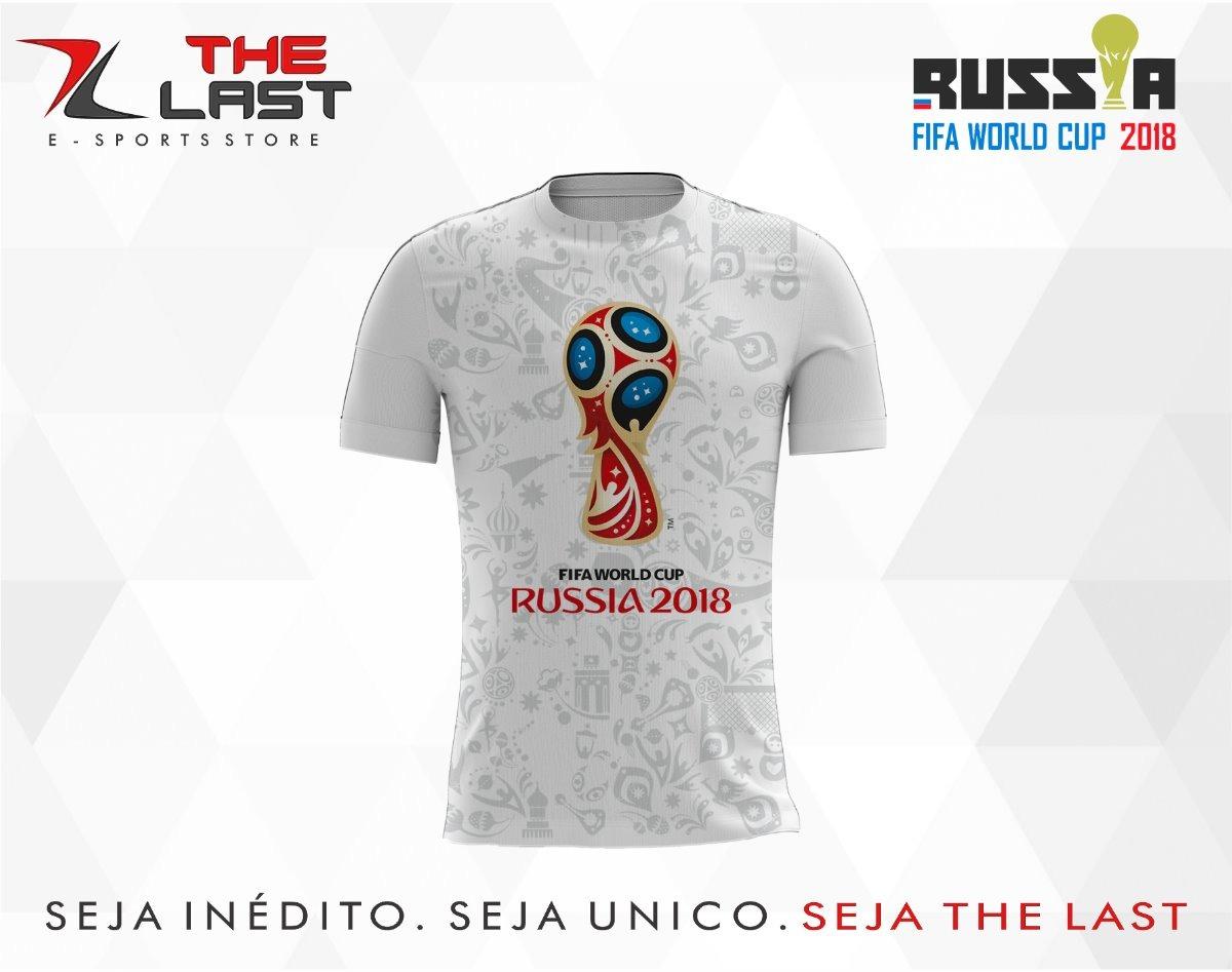 bae34cc92c1a2 camisa camiseta copa do mundo russia 2018. Carregando zoom.