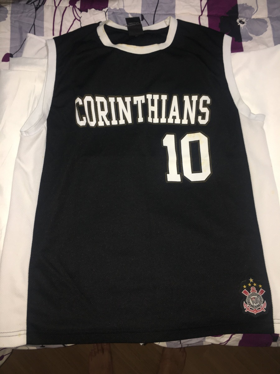camisa camiseta corinthians basquete. Carregando zoom. 113a7c9096566