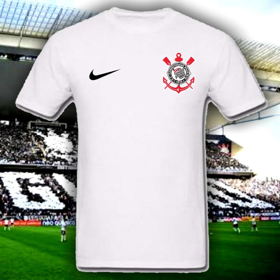 camisa camiseta corinthians personalizada. Carregando zoom. 95235050966c6