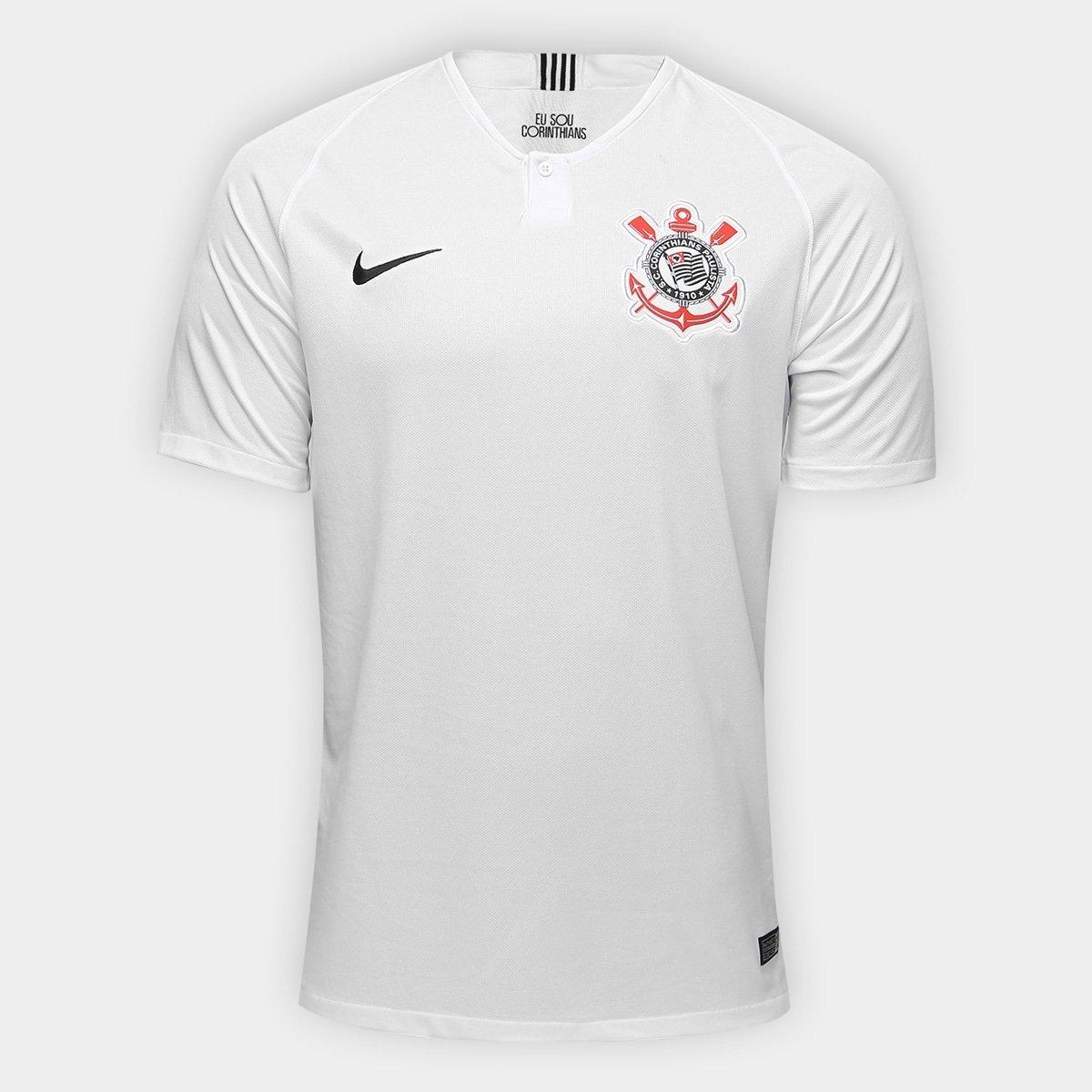 211191afa5 camisa camiseta corinthians uniforme 1 2018 2019 original. Carregando zoom.