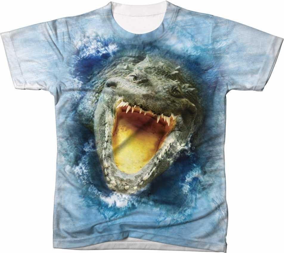 c897368992334 Camisa Camiseta Crocodilo Jacaré Reptil Alligaton - R  54,90 em ...