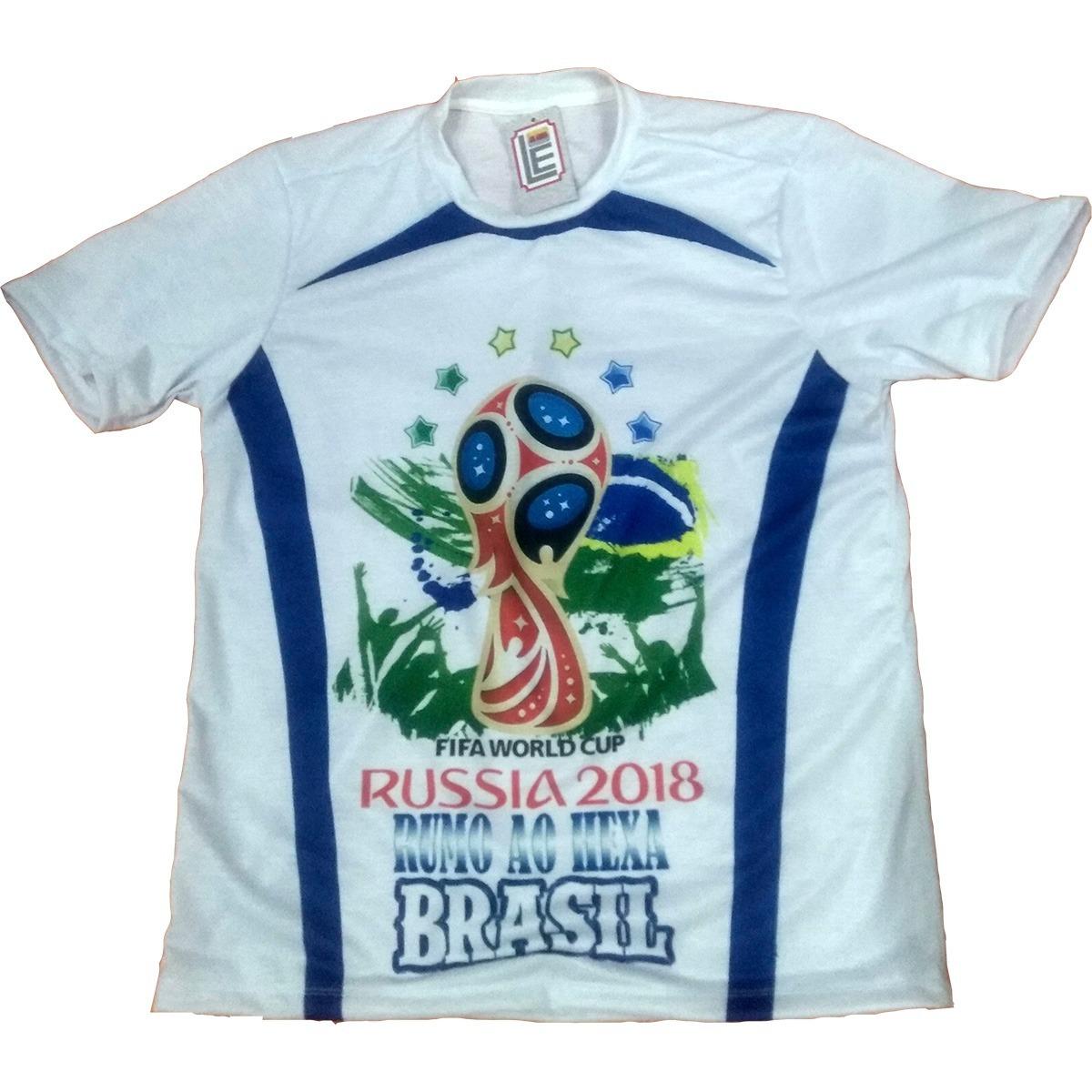 173826312cbb2 Camisa Camiseta Da Copa Do Mundo 2018 Camisa Da Seleção - R  29