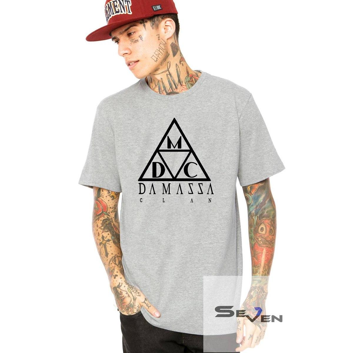 Camisa Camiseta Damassaclan Dmc Thug Life Rap Hip Hot - R  39 28ffb4e36da