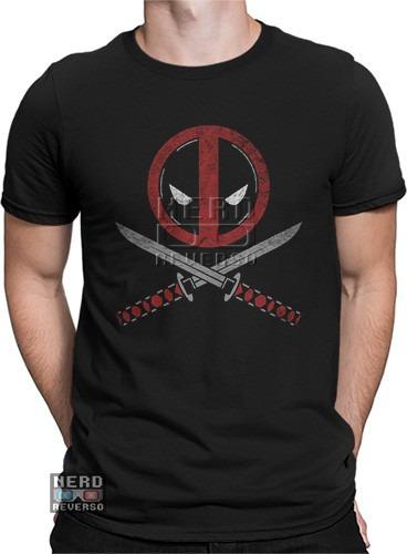 camisa, camiseta deadpool marvel filme wilson hq rap