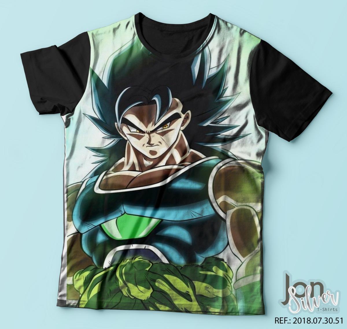 camisa camiseta dragon ball super broly filme r 35 99 em mercado