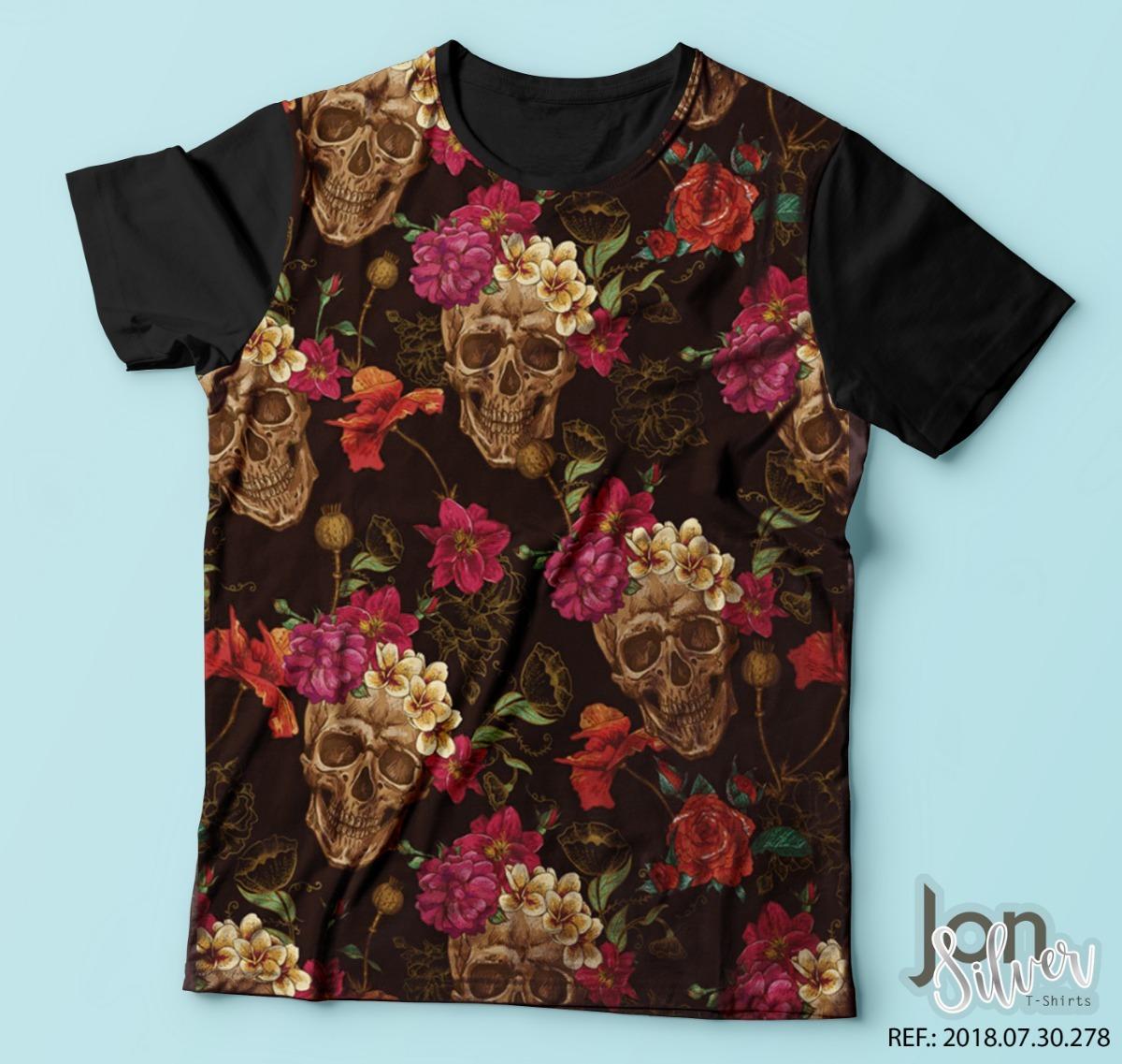 e6a86272f camisa camiseta estampa caveiras psicodélica colorida skull. Carregando zoom .