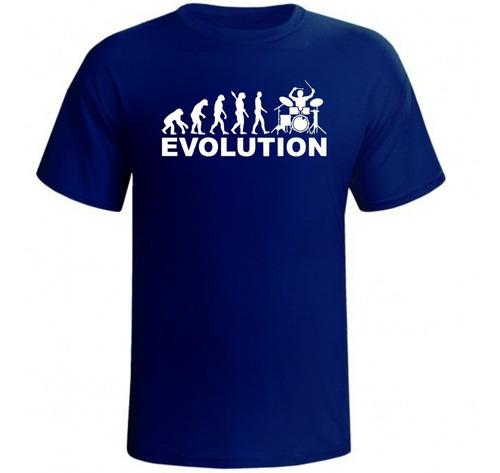 camisa camiseta evolução baterista personalizada