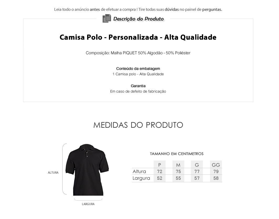 18d5001ea4 camisa camiseta flamengo passeio polo torcedor premium. Carregando zoom.