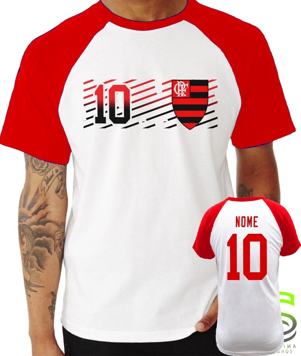 abc145d53a347 camisa camiseta flamengo personalizada raglan. Carregando zoom.