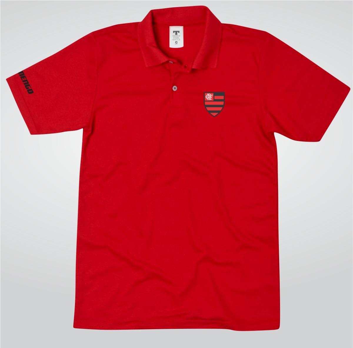 camisa camiseta flamengo polo torcedor preto ou branco fla. Carregando zoom. e6a65a7048cb8