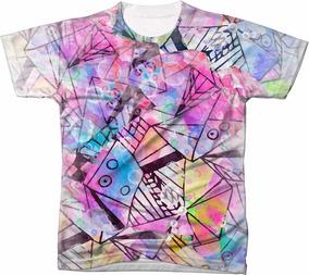 4d5fad52a8 Camiseta Tribal Feminino - Camisetas no Mercado Livre Brasil