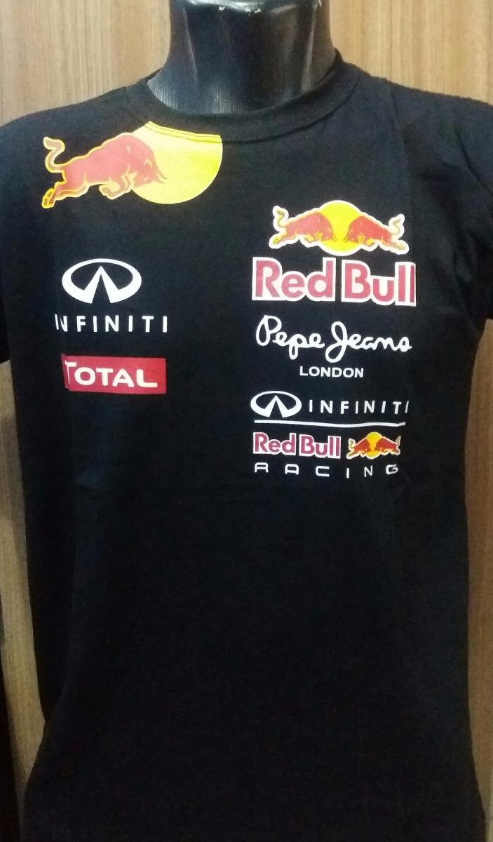 camisa camiseta formula 1 f1 red bull corrida tecido algodão. Carregando  zoom. 6bf6449602a