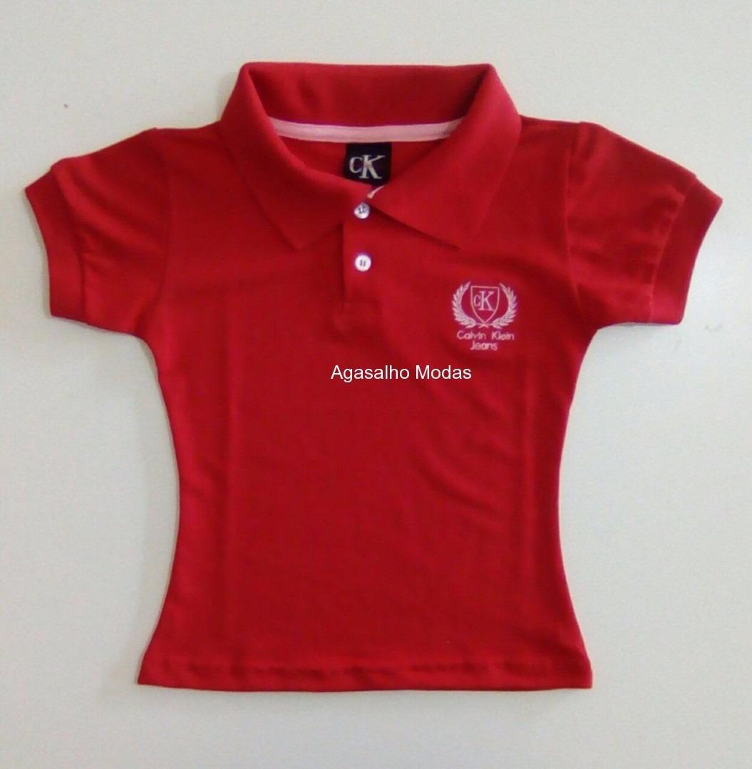 camisa camiseta gola polo infantil feminina - 10 pç atacado. Carregando zoom . 38267a9ccd004