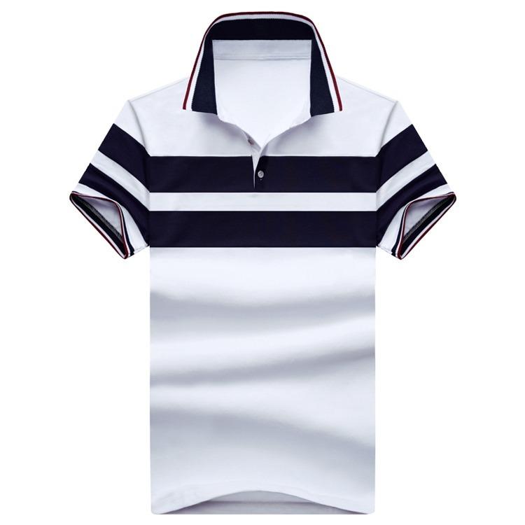 011e7f5643fb4 Camisa Camiseta Gola Polo Masculina Slim Fit Blusa Luxuosa - R  79 ...