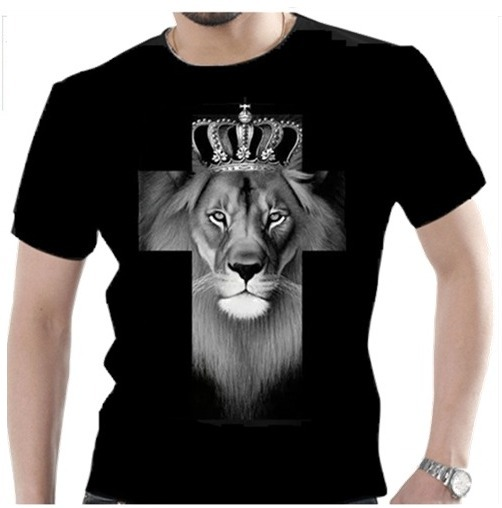 b93ee3aac Camisa camiseta gospel cristã deus evangélica leão judá jpg 502x508 Juda  gospel blusas personalizadas estampas masculinas