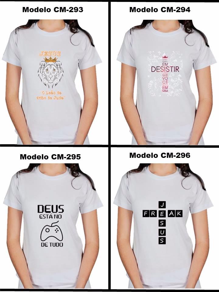 Camisa Camiseta Gospel Cristã Evangélica Frases Jesus Deus R 74