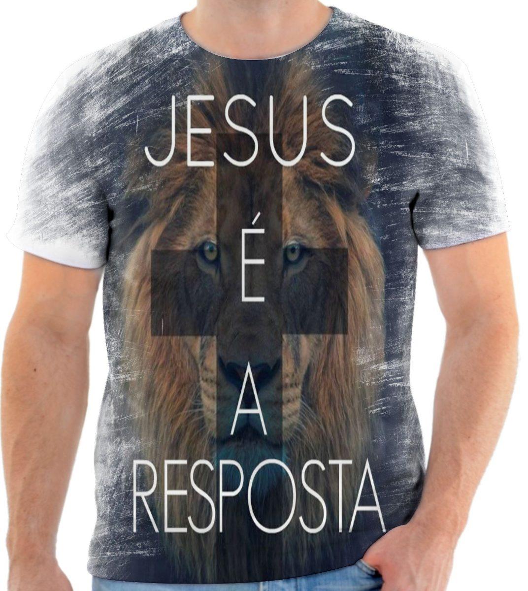 29c4ee85f camisa camiseta gospel moda evangélica leão cristã 225. Carregando zoom.