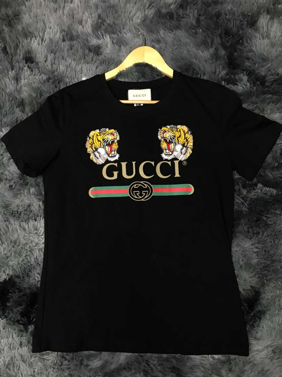 camisa camiseta gucci lançamento + corrente de brinde. Carregando zoom. 54f4b663776