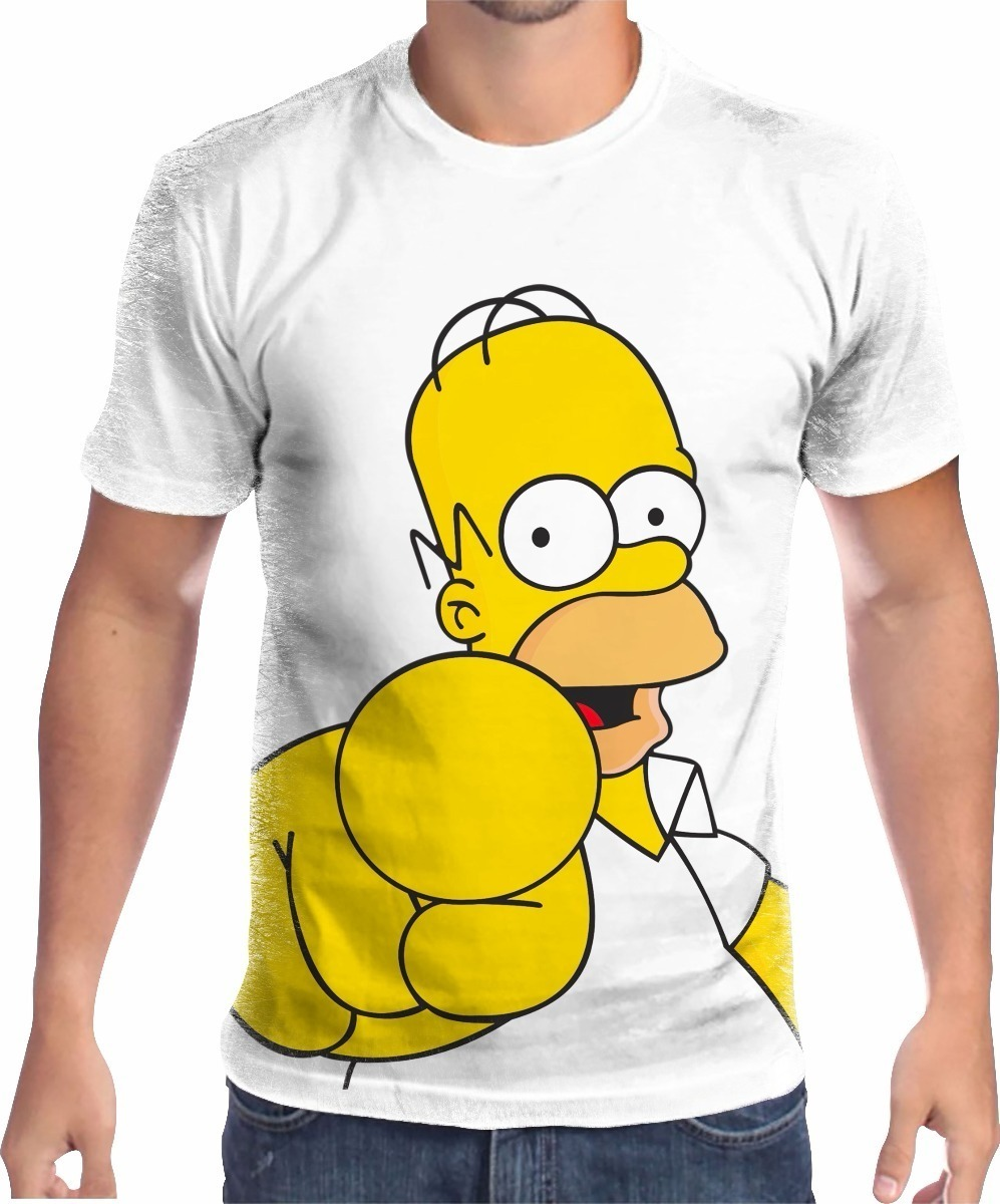 Simpson R Em 031 Homer Camisa Mercado Livre 49 Camiseta 90 IPqn7xg