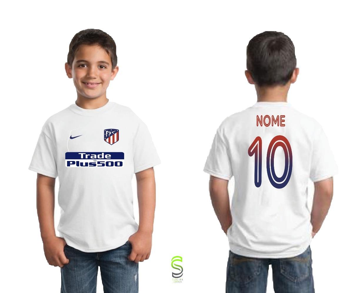 camisa camiseta infantil atletico de madrid. Carregando zoom. 38f0deafc6898