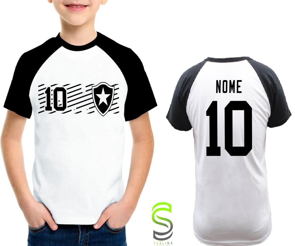 camisa camiseta infantil botafogo personalizada ref 090. Carregando zoom. 1ff11b2559508
