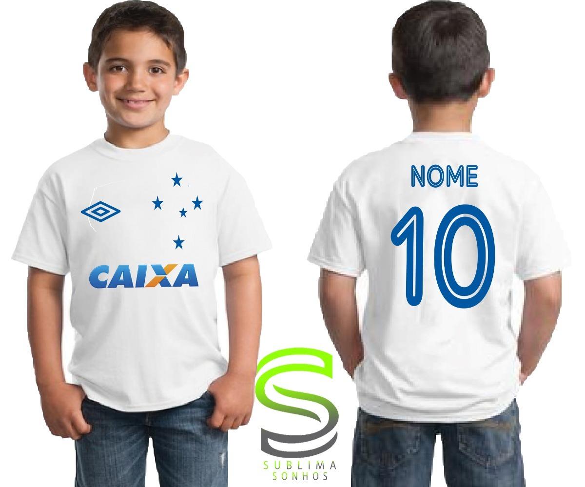 camisa camiseta infantil cruzeiro personalizada. Carregando zoom. 34f50528c11fc