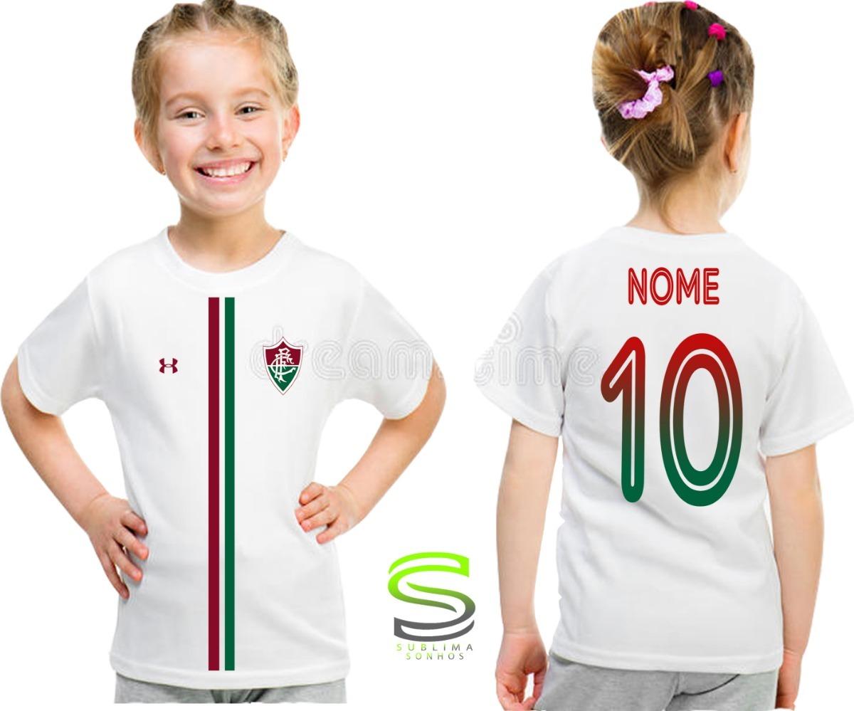 c9286773bc492 camisa camiseta infantil fluminense personalizada ref 02. Carregando zoom.