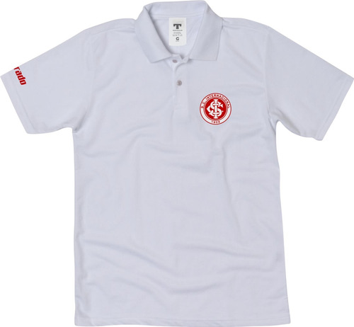camisa camiseta inter gola polo torcedor do internacional