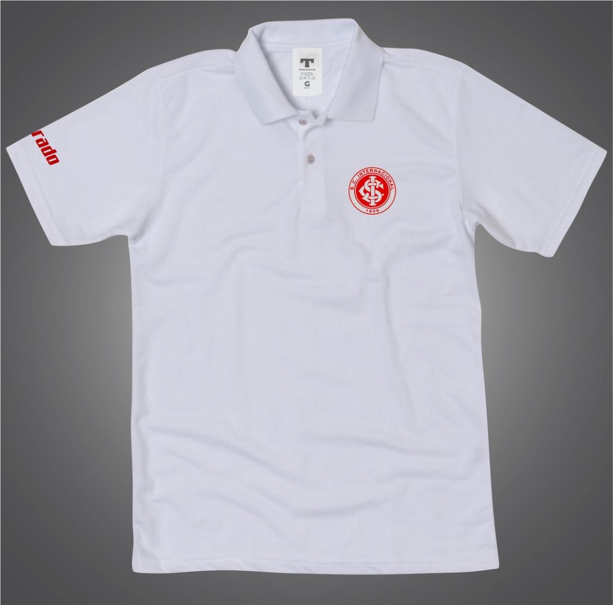 camisa camiseta inter gola polo torcedor do internacional. Carregando zoom. 67da27f112706
