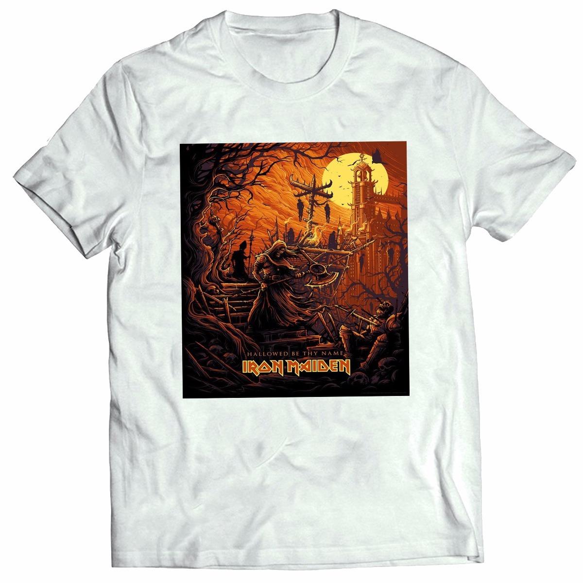 6f3abbb18 camisa camiseta iron maiden hallowee banda rock metal top! Carregando zoom.