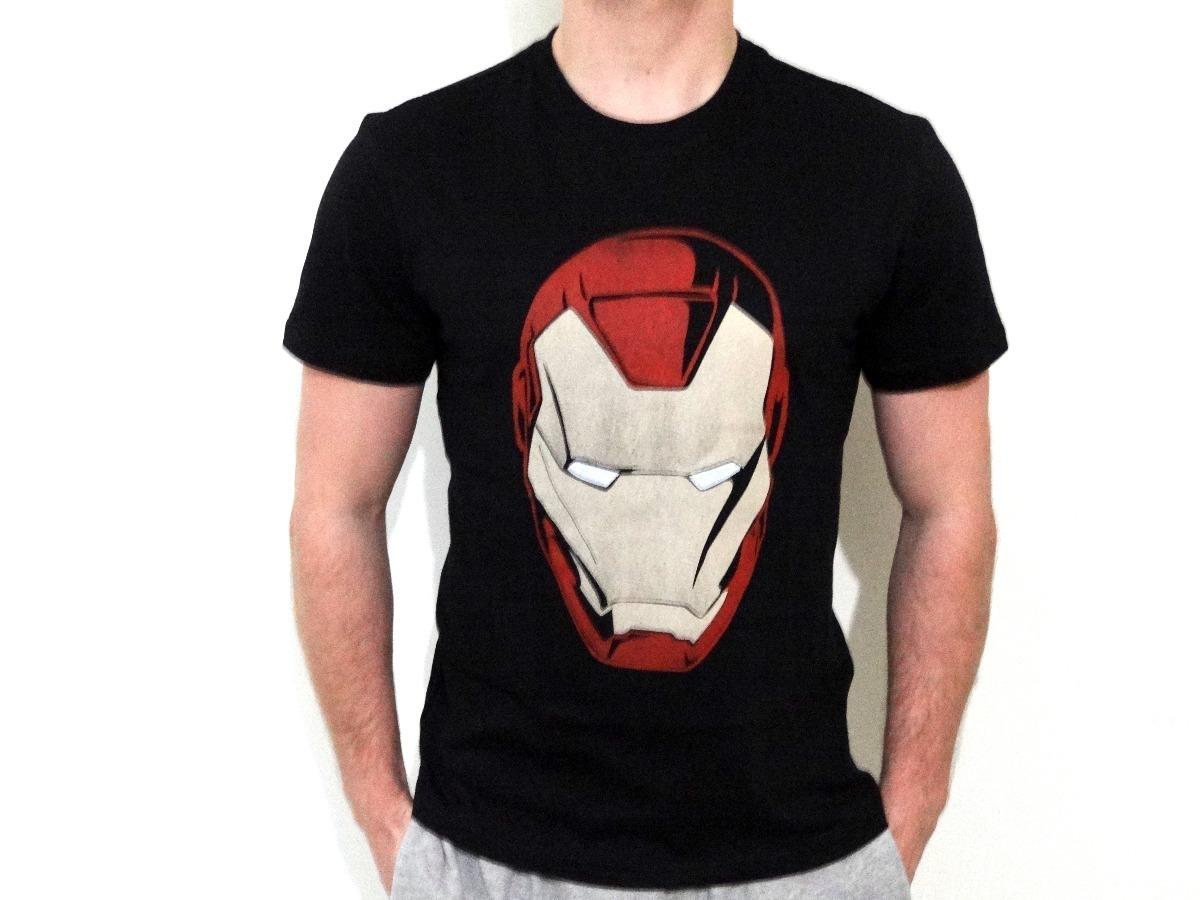 camisa camiseta iron man homem de ferro filme marvel mygeek. Carregando zoom . 25e2c7d7b1342